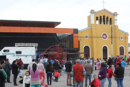 San Rosendo disfrutó de show acrobático que ha recorrido más de 50 países
