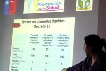 Liceo Isidora Aguirre Tupper organiza implementación de Kiosko Saludable